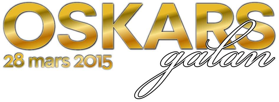 Logotyp för vinnarna på Oskarsgalan 2015.